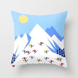 THE MOUNTAINS. PERFECT DAY! Throw Pillow