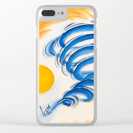 LifeStorm4 Clear iPhone Case