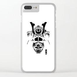 Samurai Helmet - Bushido Clear iPhone Case
