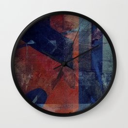 held together by stones Wall Clock
