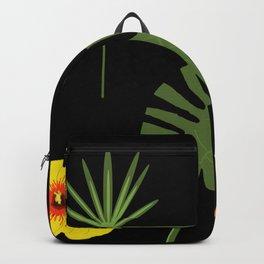 Jungle / Tropical Pattern Backpack