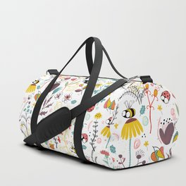 Spring Meadow Duffle Bag