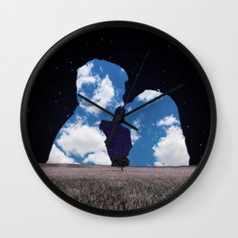 Dear Magritte Wall Clock