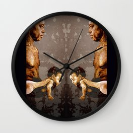 FATHER and SON - urban ART Wall Clock