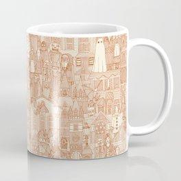 vintage halloween rust ivory Coffee Mug