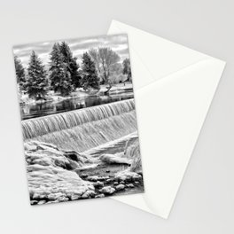 Idaho Falls - Winter Day Stationery Cards