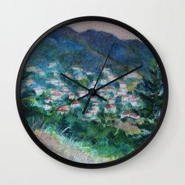 Amarantos Wall Clock
