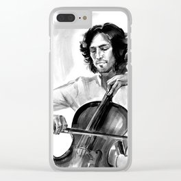 Cellist #2 Clear iPhone Case