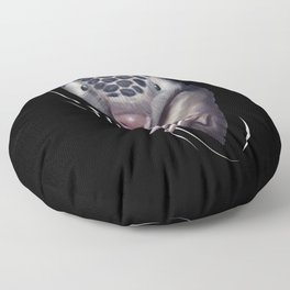 Pangolin Animal Coming From Inside Floor Pillow