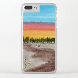 skyscapes 6 Clear iPhone Case