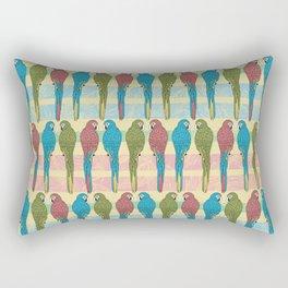 Parrot Party Rectangular Pillow