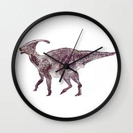 Parasaurolophus dinosaur Wall Clock