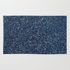 Black Sand II (Blue) Rug