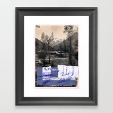 memory and perception 14 Framed Art Print