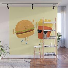 BFFs Wall Mural