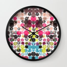 Paint Ball Party! Wall Clock