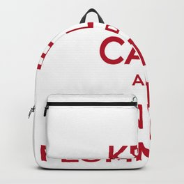 Keep Calm and Dun't Be Flummoxed Backpack