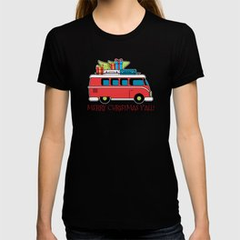 Merry Christmas Y'All For Holiday Christmas Greeting T-shirt