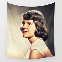 Sylvia Plath, Literary Legend Wall Tapestry