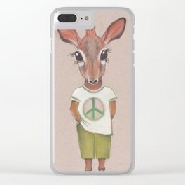 Make love... Clear iPhone Case