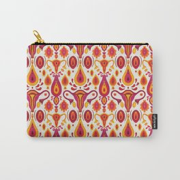 uteri_white Carry-All Pouch