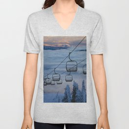 LAST CHAIR Unisex V-Neck