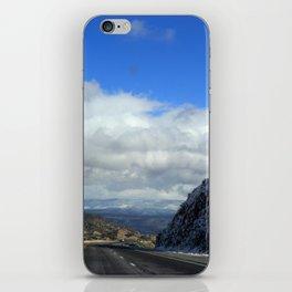 Snowy Drive iPhone Skin