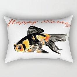 Happy Norooz Demekin Goldfish Persian New Year Rectangular Pillow