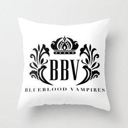 Blueblood Vampires Logo Throw Pillow