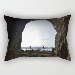 Cave Rock Rectangular Pillow