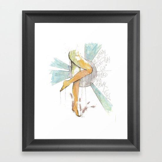 Coy Gams Framed Art Print