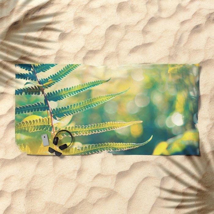 Flow of Energy Beach Towel