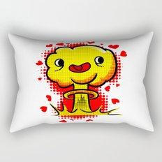 War Is Love Rectangular Pillow