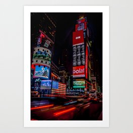 City that Never Sleeps-NYC Art Print