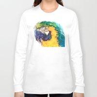 parrot Long Sleeve T-shirts featuring Parrot by jbjart