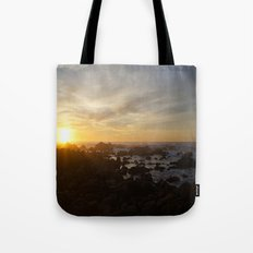 SUNSET - MONTEREY CALIFORNIA Tote Bag