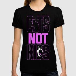 Cats Not Kids T-shirt