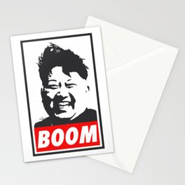 Boom (Kim Jong Un) Stationery Cards