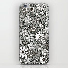 Flower Frenzy iPhone Skin