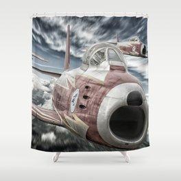 ASCUA aerobatic team Shower Curtain