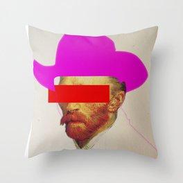 I wanna be a cowboy 2 Throw Pillow