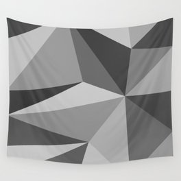 Different shades of Grey Wall Tapestry