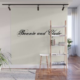 Bonnie and Clyde Wall Mural