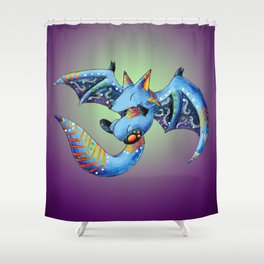 Nocturnal Trickster Shower Curtain