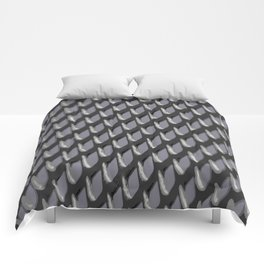 Just Grate Abstract Pattern With Heather Background Comforters