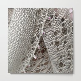 Bougainville lace Metal Print