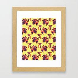 Cannas in Sunrise Framed Art Print