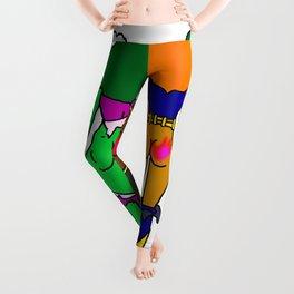 Superhero Butts Love 2 - Team Girls Leggings