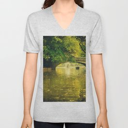 Rowing by nature Unisex V-Neck