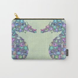 The Abstract Seahorses Carry-All Pouch